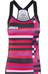 Bioracer Vesper Tan Top Women red/pink